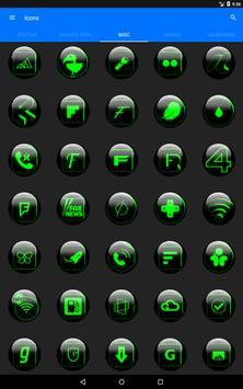 Green Glass Orb Icon Pack v2.2 screenshot 13