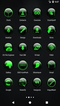 Green Glass Orb Icon Pack v3.0 screenshot 2