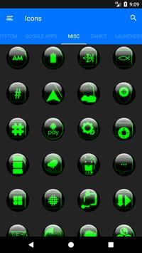 Green Glass Orb Icon Pack v2.2 screenshot 6
