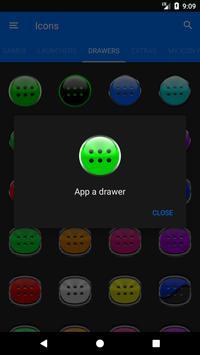 Green Glass Orb Icon Pack v2.2 screenshot 7