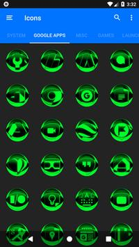 Green Icon Pack Style 2 v2.0 screenshot 5