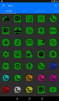 Green Puzzle Icon Pack screenshot 19