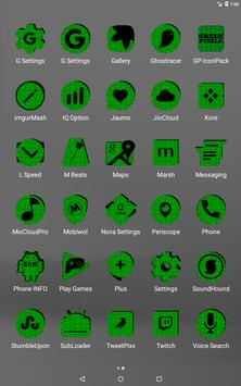 Green Puzzle Icon Pack screenshot 10