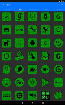 Green Puzzle Icon Pack screenshot 11
