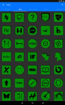 Green Puzzle Icon Pack screenshot 12