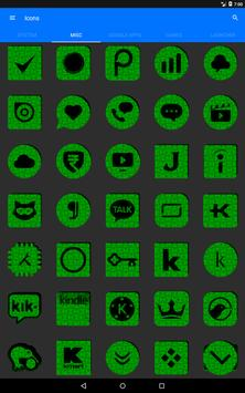 Green Puzzle Icon Pack screenshot 13