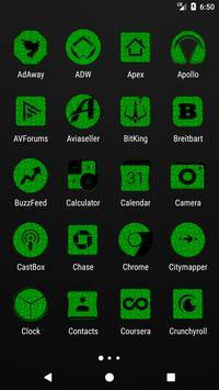 Green Puzzle Icon Pack screenshot 1