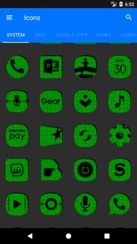Green Puzzle Icon Pack screenshot 5