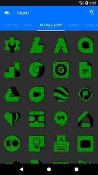 Green Puzzle Icon Pack screenshot 6