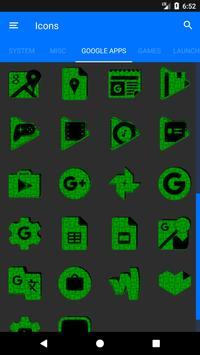 Green Puzzle Icon Pack screenshot 7