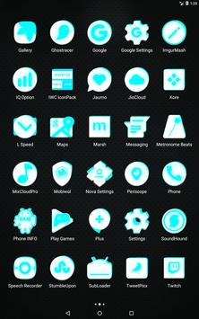 Inverted White and Cyan Icon Pack v2 screenshot 10