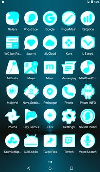 Inverted White and Cyan Icon Pack v2 screenshot 18
