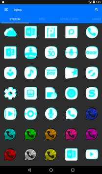 Inverted White and Cyan Icon Pack v2 screenshot 19