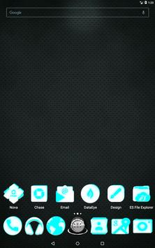 Inverted White and Cyan Icon Pack v2 screenshot 8