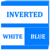 Inverted White and Blue Icon Pack v2 icon