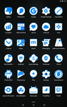 Inverted White and Blue Icon Pack v2 screenshot 10