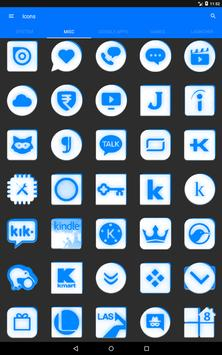 Inverted White and Blue Icon Pack v2 screenshot 12