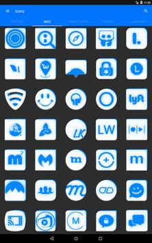 Inverted White and Blue Icon Pack v2 screenshot 13