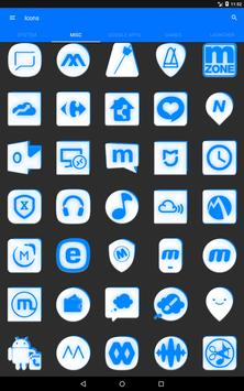 Inverted White and Blue Icon Pack v2 screenshot 14