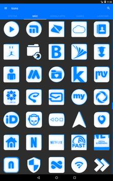 Inverted White and Blue Icon Pack v2 screenshot 15