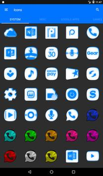 Inverted White and Blue Icon Pack v2 screenshot 19