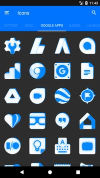 Inverted White and Blue Icon Pack v2 screenshot 6