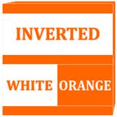 Inverted White and Orange Icon Pack v2 icon