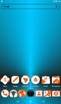 Inverted White and Orange Icon Pack v2 screenshot 16