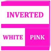 Inverted White and Pink Icon Pack v2 icon