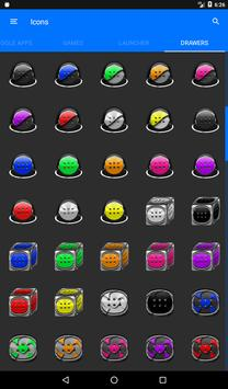 Inverted White and Purple Icon Pack v2 apk screenshot