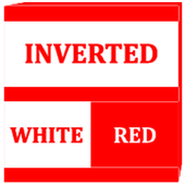 Inverted White and Red Icon Pack v2 icon