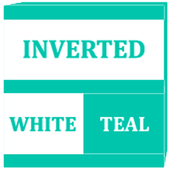 Inverted White and Teal Icon Pack v2 icon