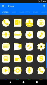 Inverted White and Yellow Icon Pack v2 screenshot 5