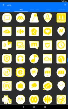 Inverted White and Yellow Icon Pack v2 screenshot 13