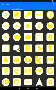 Inverted White and Yellow Icon Pack v2 screenshot 14