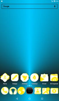 Inverted White and Yellow Icon Pack v2 screenshot 16