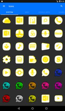 Inverted White and Yellow Icon Pack v2 screenshot 19