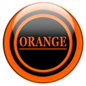 Orange Glass Orb Icon Pack v2.2 icon