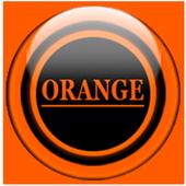 Orange Glass Orb Icon Pack v4.0 Free icon