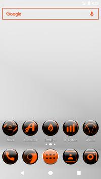 Orange Glass Orb Icon Pack v2.2 poster