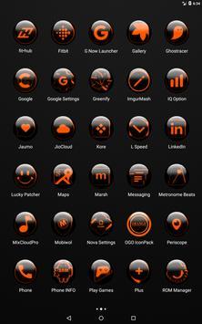 Orange Glass Orb Icon Pack v4.0 Free screenshot 10