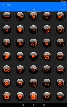 Orange Glass Orb Icon Pack v4.0 Free screenshot 12