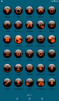 Orange Glass Orb Icon Pack v2.2 screenshot 17