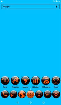 Orange Glass Orb Icon Pack v4.0 Free screenshot 16