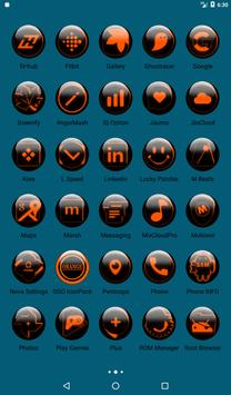 Orange Glass Orb Icon Pack v2.2 screenshot 18