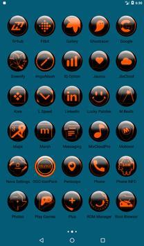 Orange Glass Orb Icon Pack v4.0 Free screenshot 18