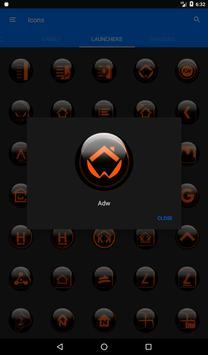 Orange Glass Orb Icon Pack v4.0 Free screenshot 23