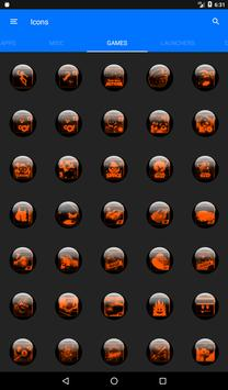 Orange Glass Orb Icon Pack v4.0 Free screenshot 22