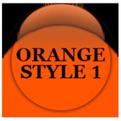 Orange Icon Pack Style 1 v3.0 Free icon