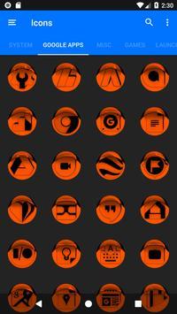 Orange Icon Pack Style 1 v3.0 Free screenshot 5